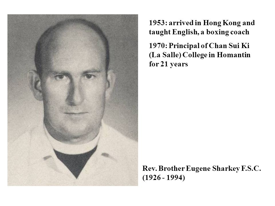 1953: arrived in Hong Kong and taught English, a boxing coach