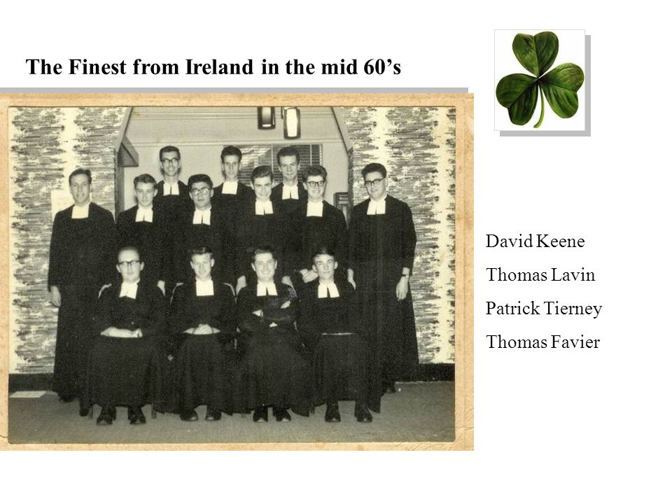 The Finest from Ireland in the mid 60's