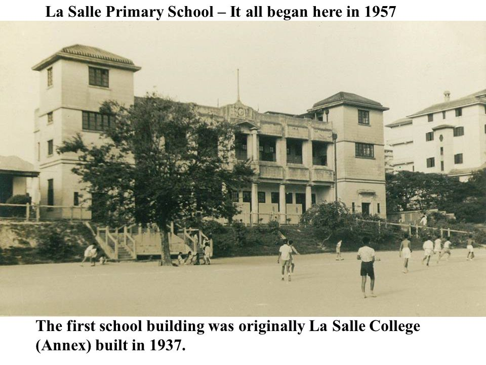 La Salle Primary School – It all began here in 1957