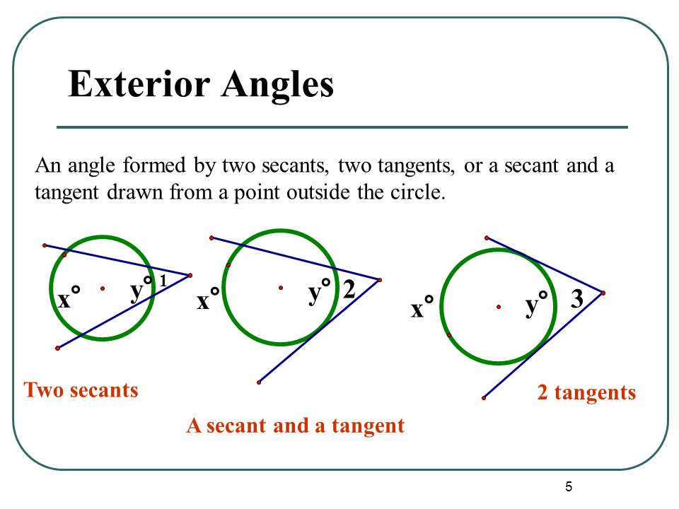 28 Angles Formed By Secants And Tangents Worksheet Whites Geometry Wiki Scab518 11 2 11 3