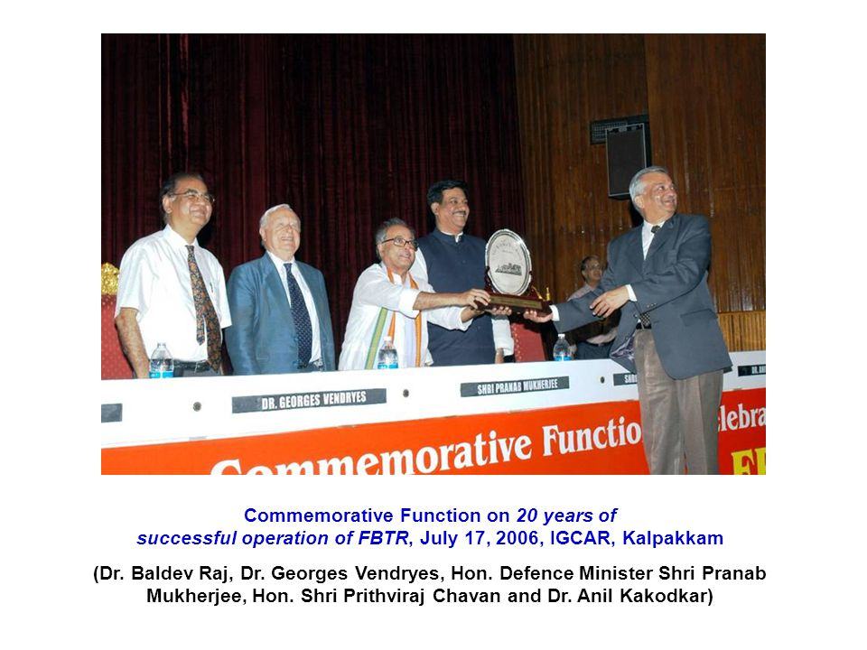 Commemorative Function on 20 years of