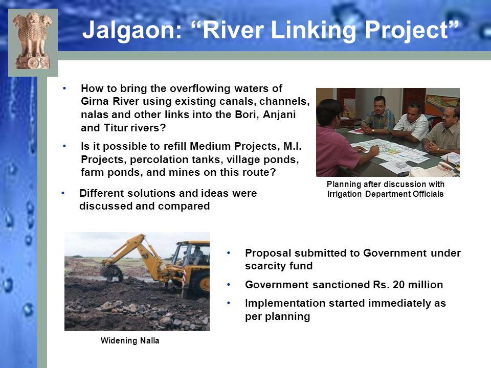 Jalgaon: River Linking Project