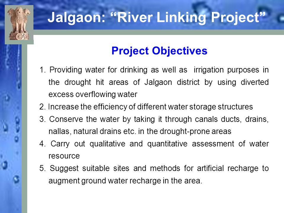 Jalgaon: River Linking Project