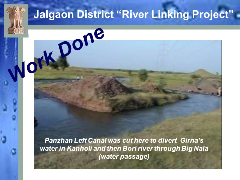 Jalgaon District River Linking Project