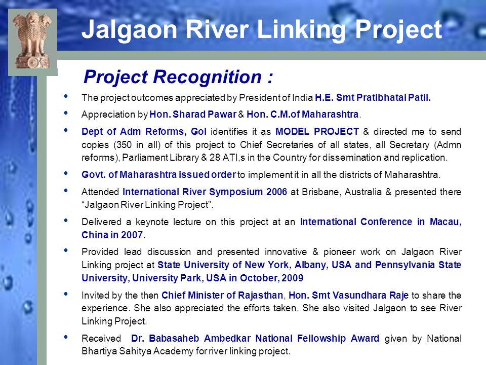 Jalgaon River Linking Project