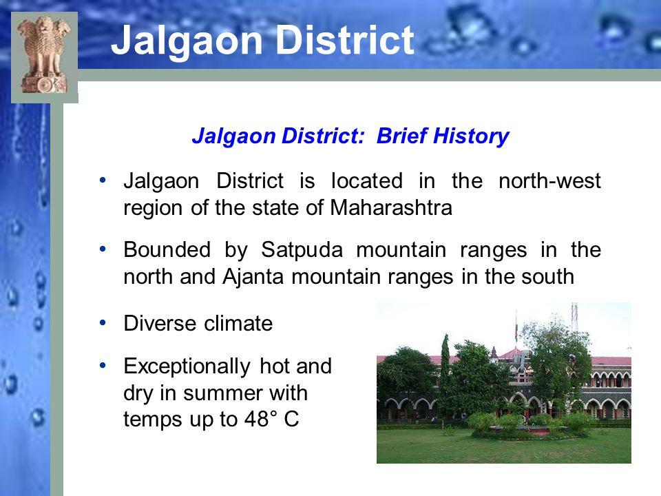 Jalgaon District: Brief History