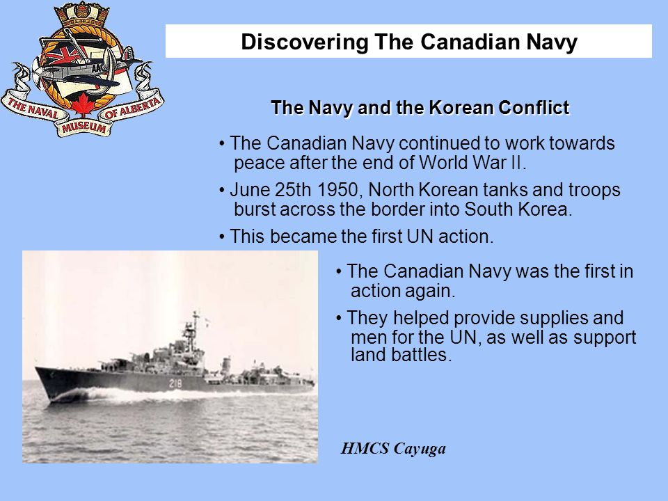 The Navy and the Korean Conflict