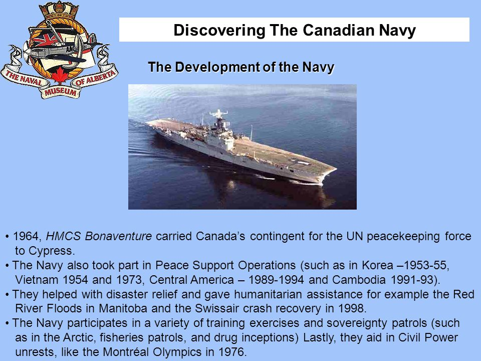 The Development of the Navy
