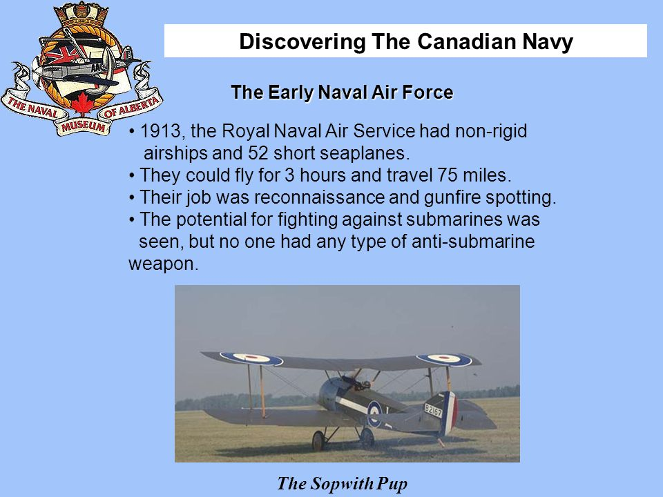 The Early Naval Air Force