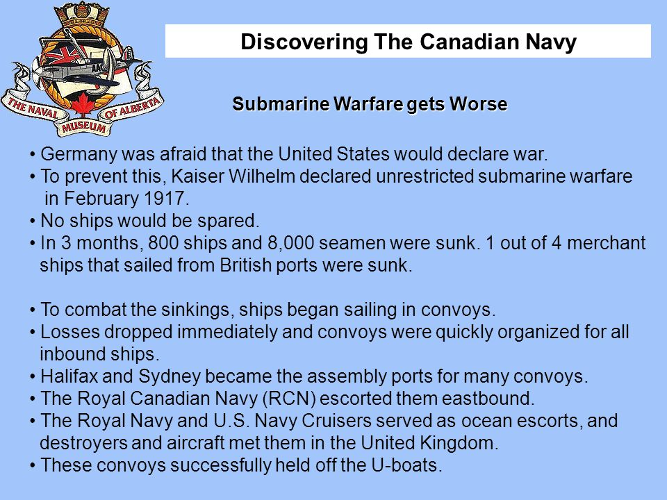 Submarine Warfare gets Worse