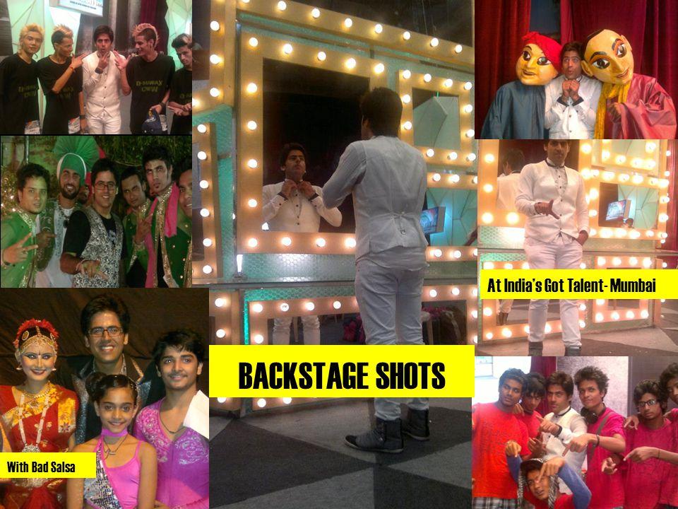 At India's Got Talent- Mumbai