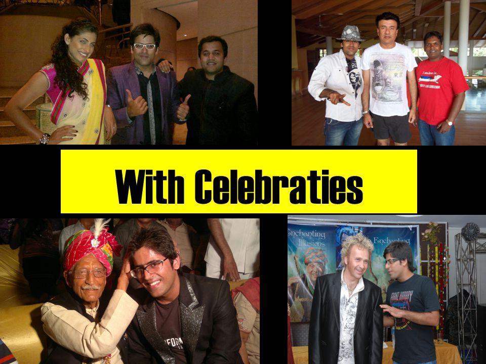 With Celebraties