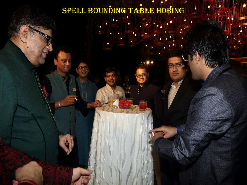 Spell Bounding Table Hoping