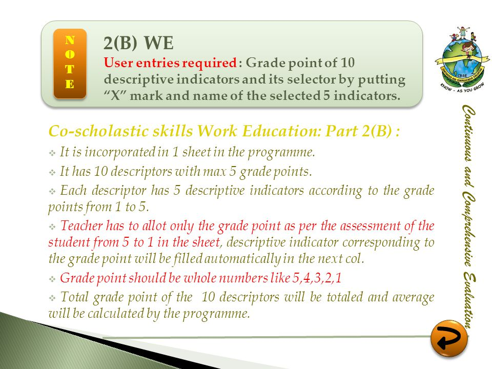 2(B) WE Co-scholastic skills Work Education: Part 2(B) :