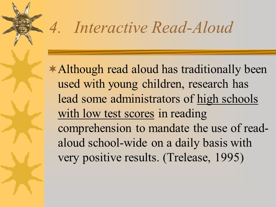 4. Interactive Read-Aloud
