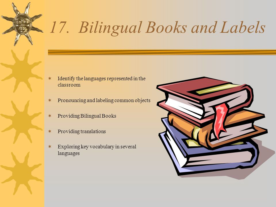 17. Bilingual Books and Labels