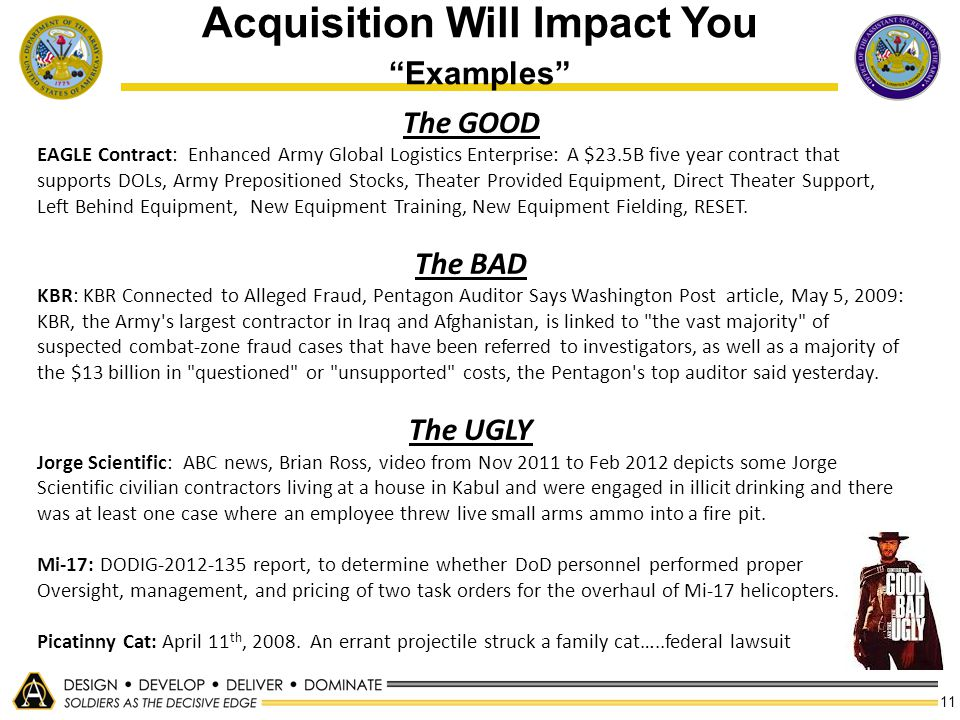 Acquisition Will Impact You