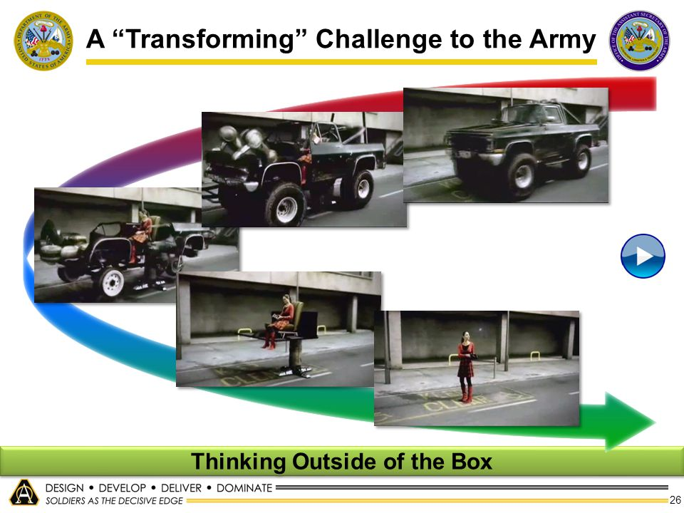A Transforming Challenge to the Army