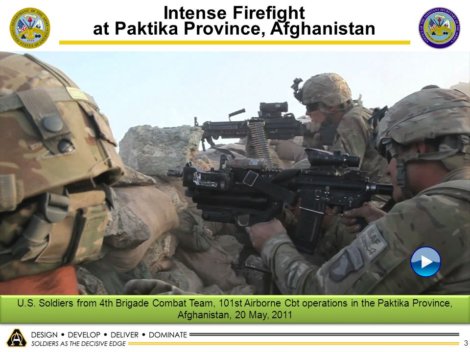 Intense Firefight at Paktika Province, Afghanistan