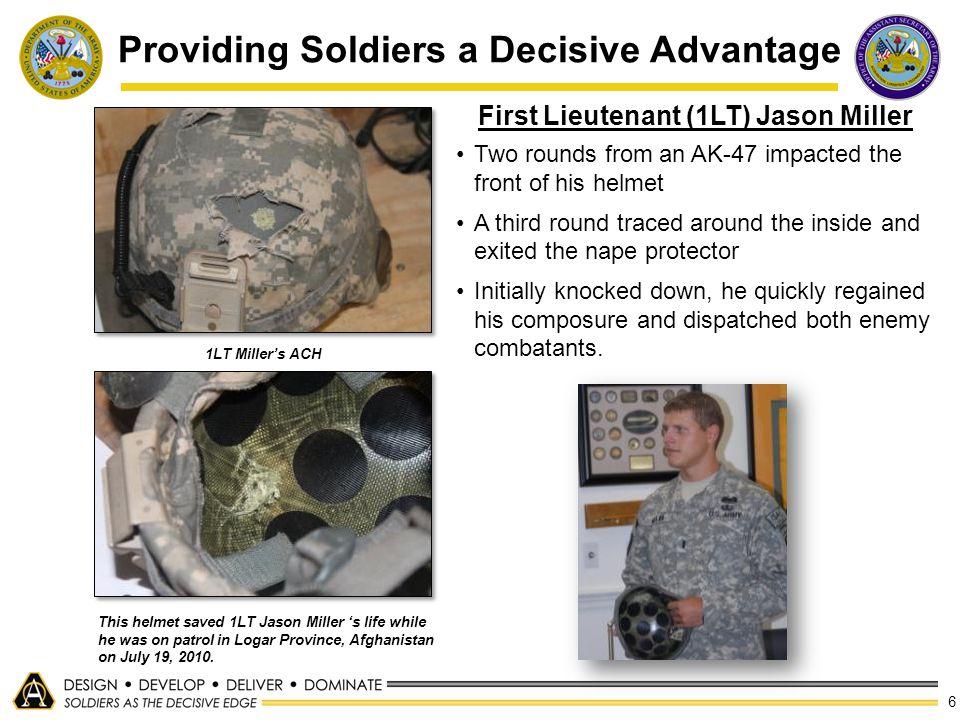 Providing Soldiers a Decisive Advantage
