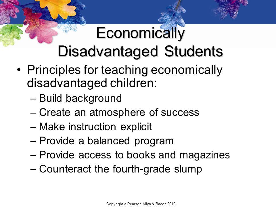 Economically Disadvantaged Students