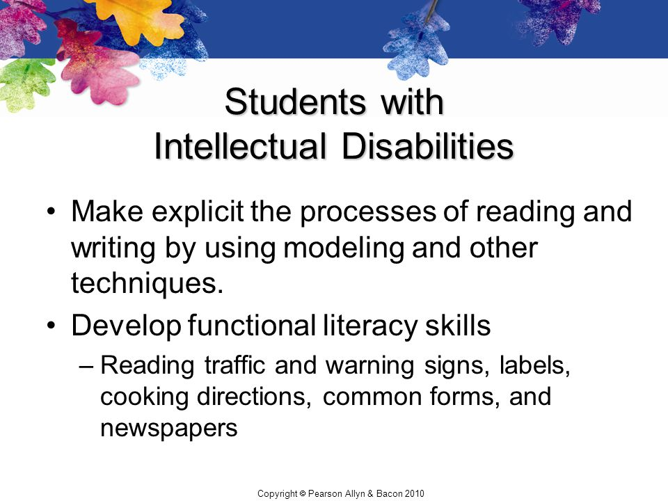 Students with Intellectual Disabilities