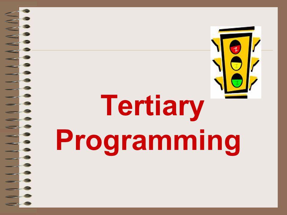 Tertiary Programming