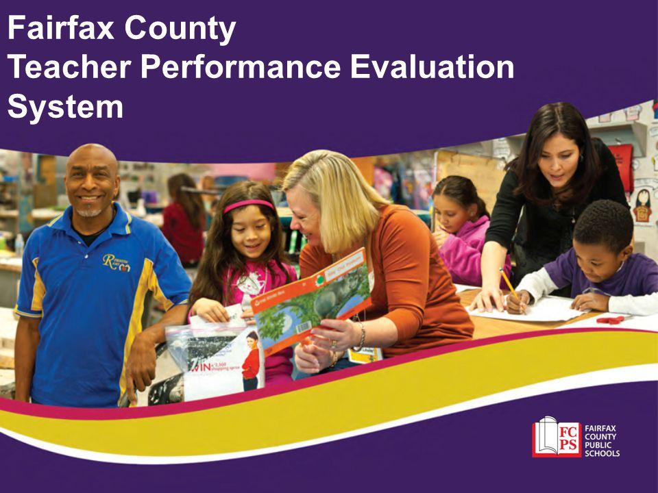 Fairfax County Teacher Performance Evaluation System