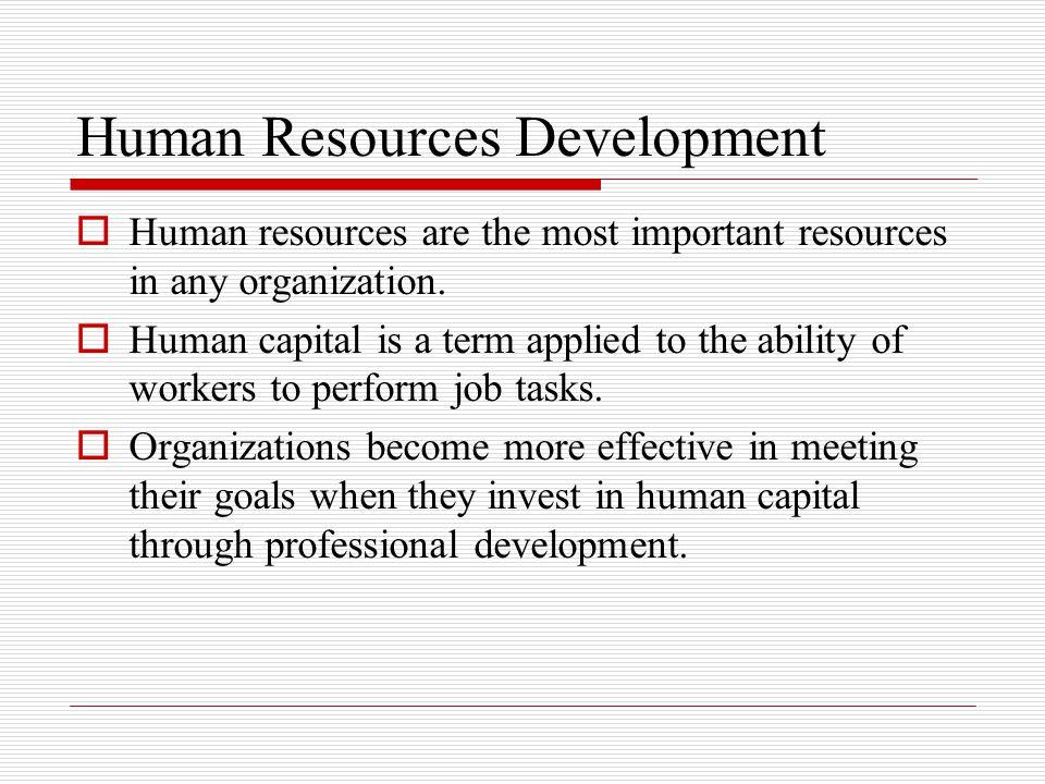 Human Resources Development