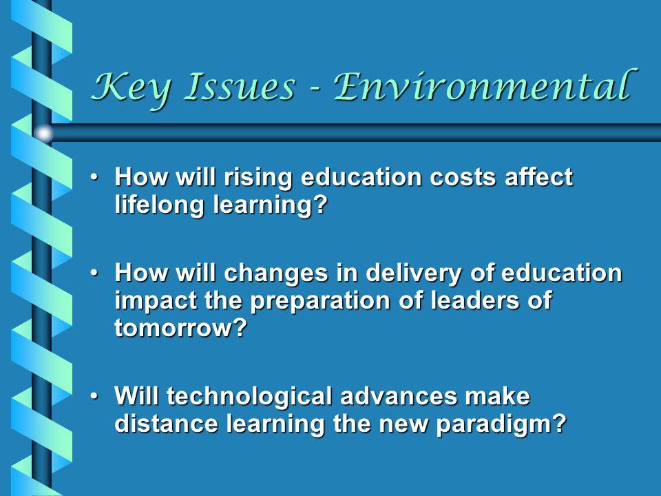 Key Issues - Environmental