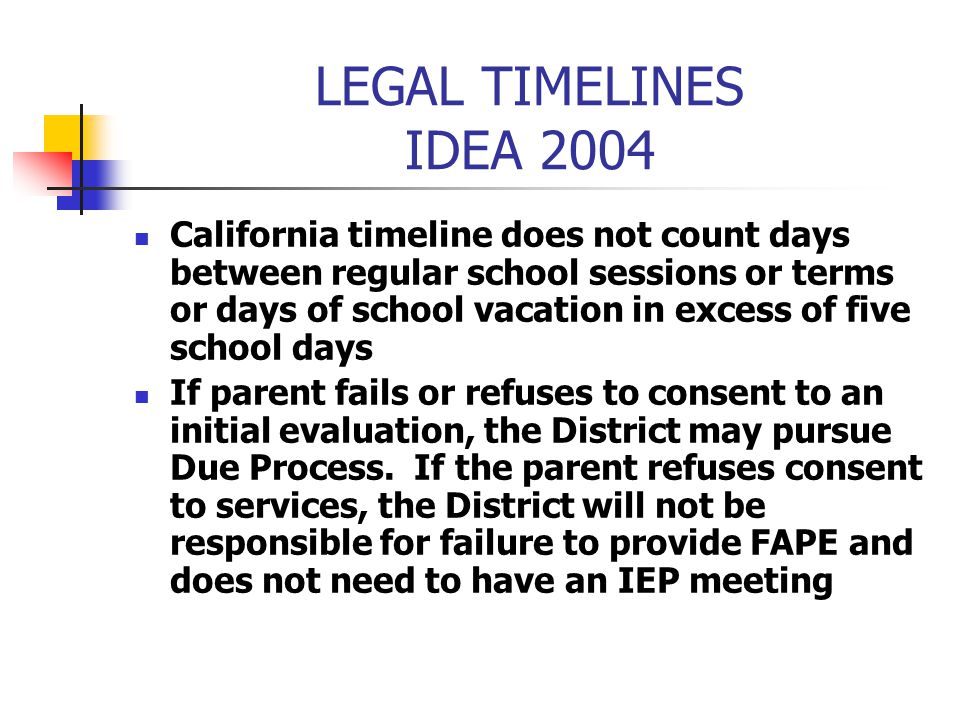 LEGAL TIMELINES IDEA 2004