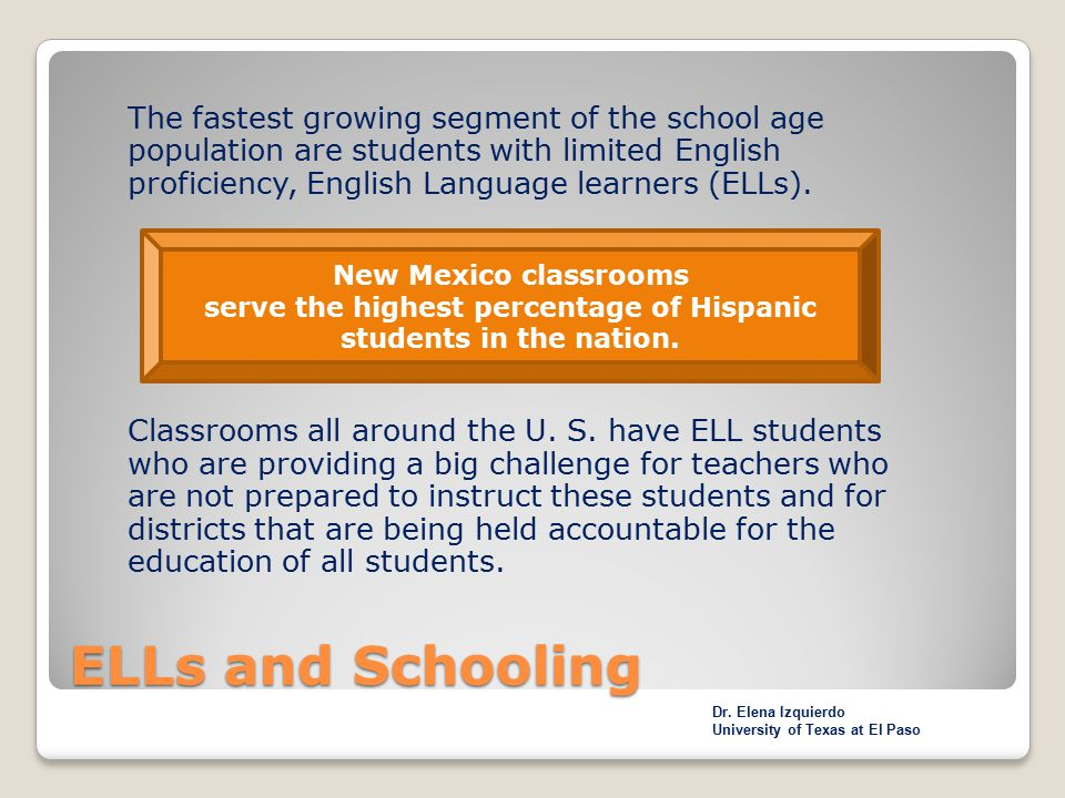 serve the highest percentage of Hispanic students in the nation.
