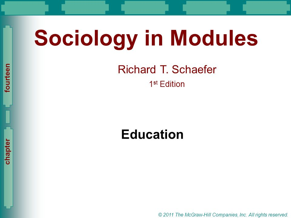 Sociology in Modules Education
