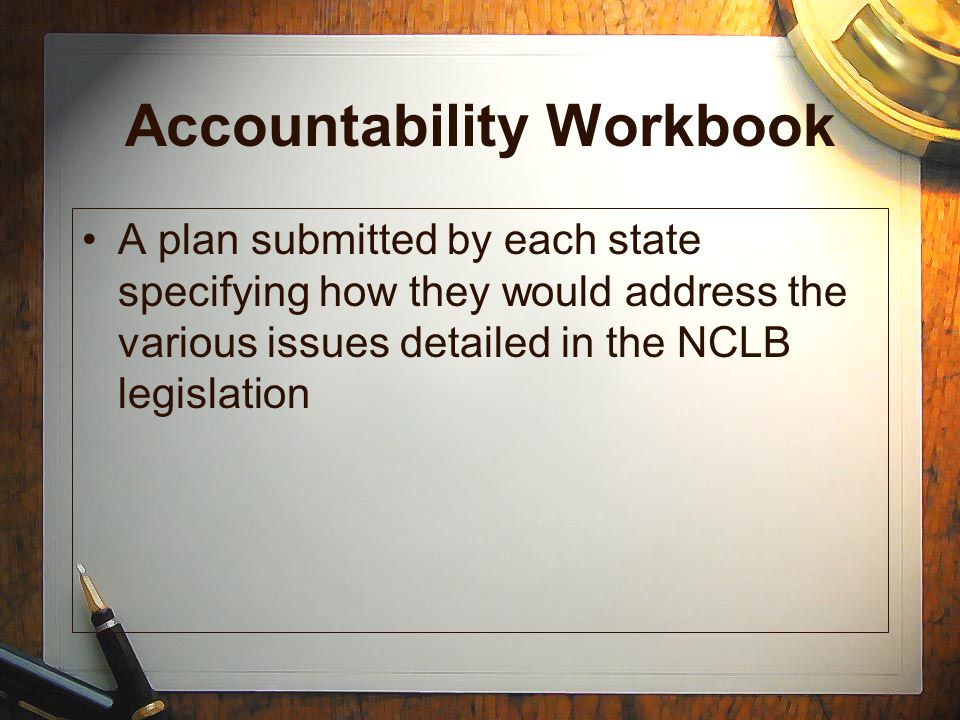 Accountability Workbook