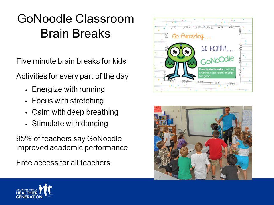 GoNoodle Classroom Brain Breaks