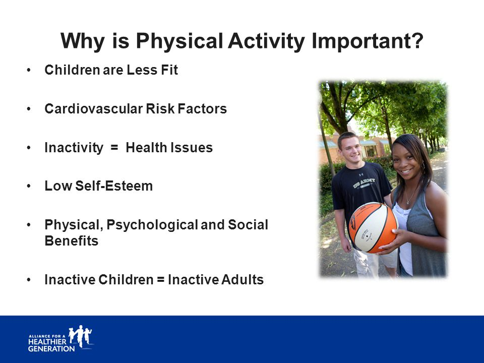Why is Physical Activity Important