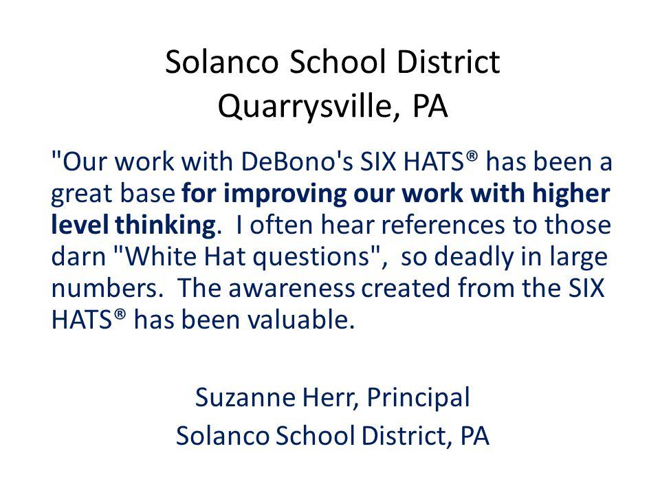 Solanco School District Quarrysville, PA