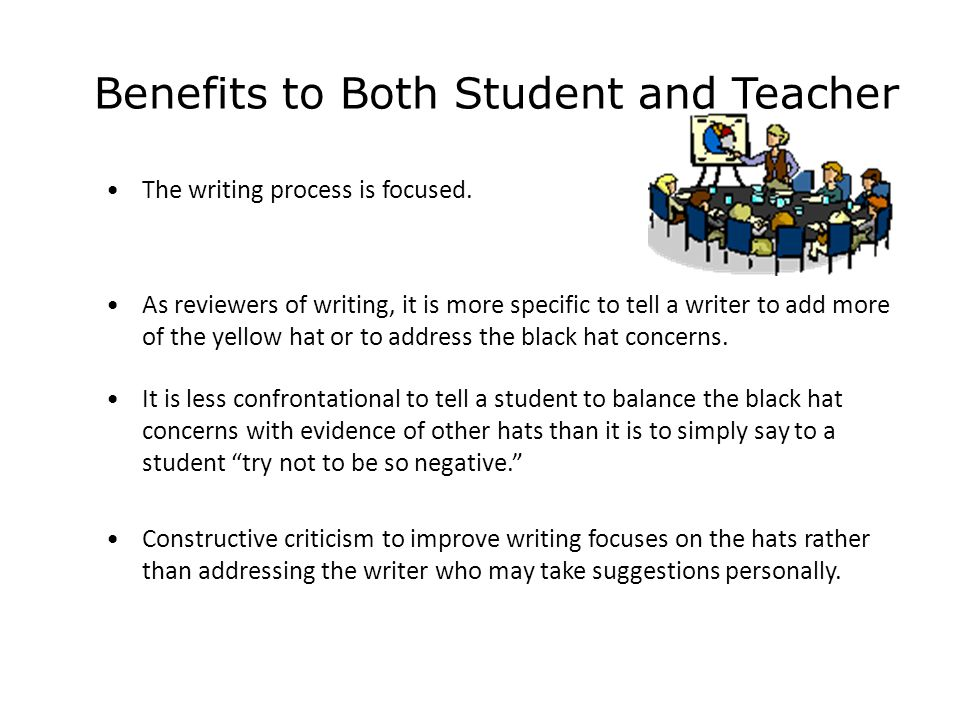 Benefits to Both Student and Teacher