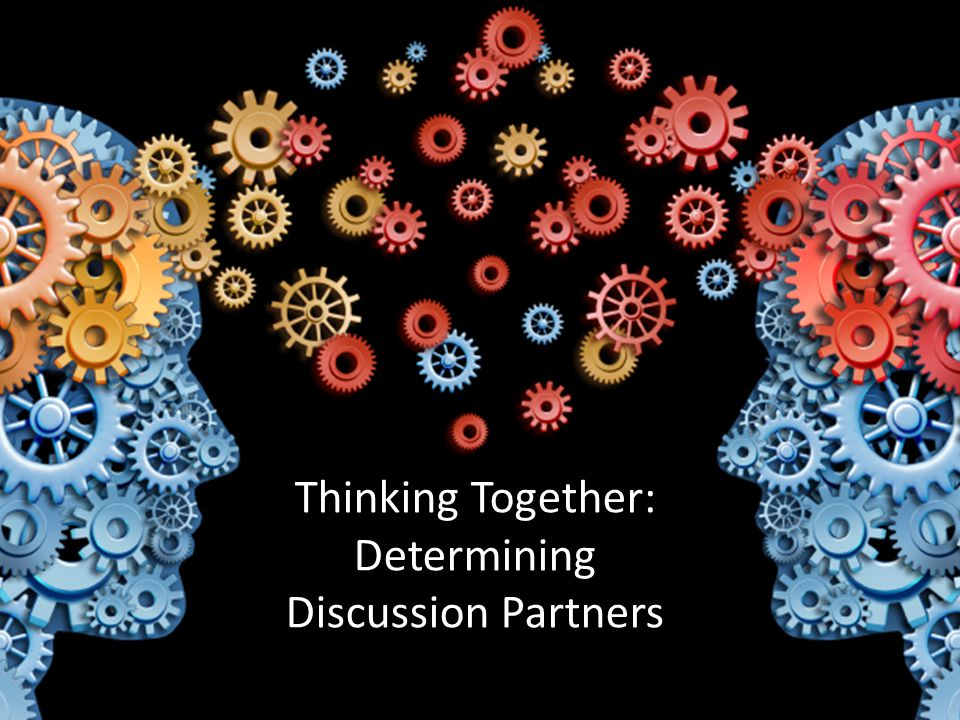 Thinking Together: Determining Discussion Partners