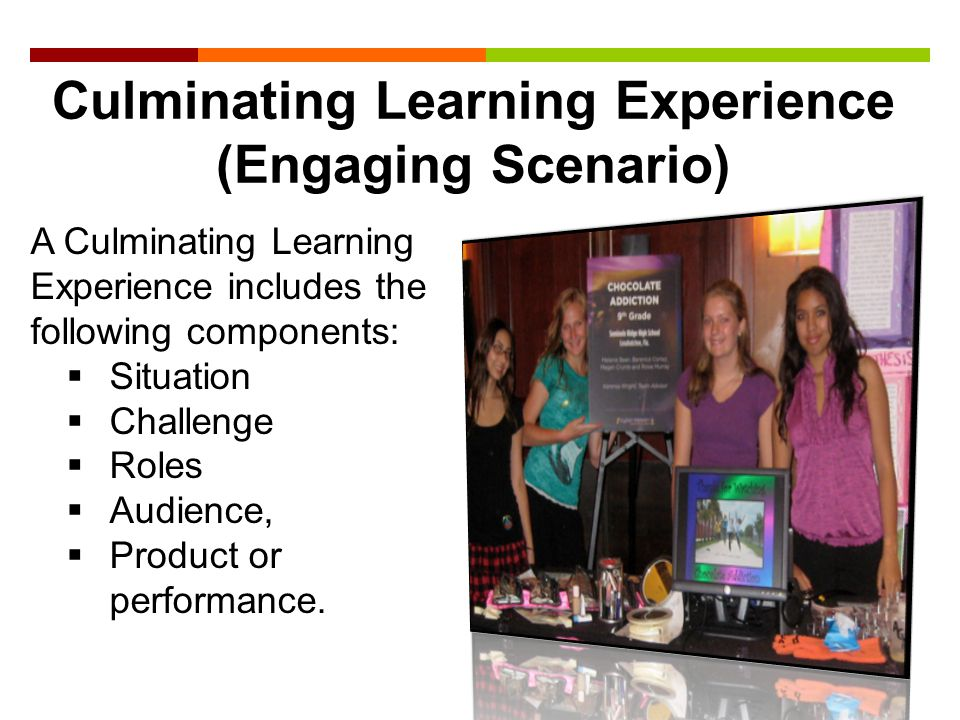 Culminating Learning Experience