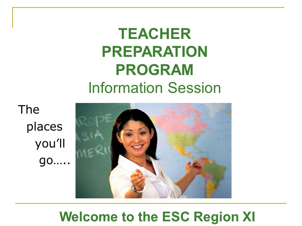 Welcome to the ESC Region XI