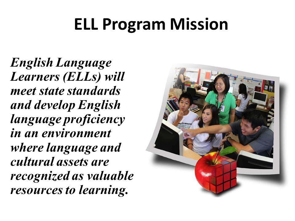 ELL Program Mission