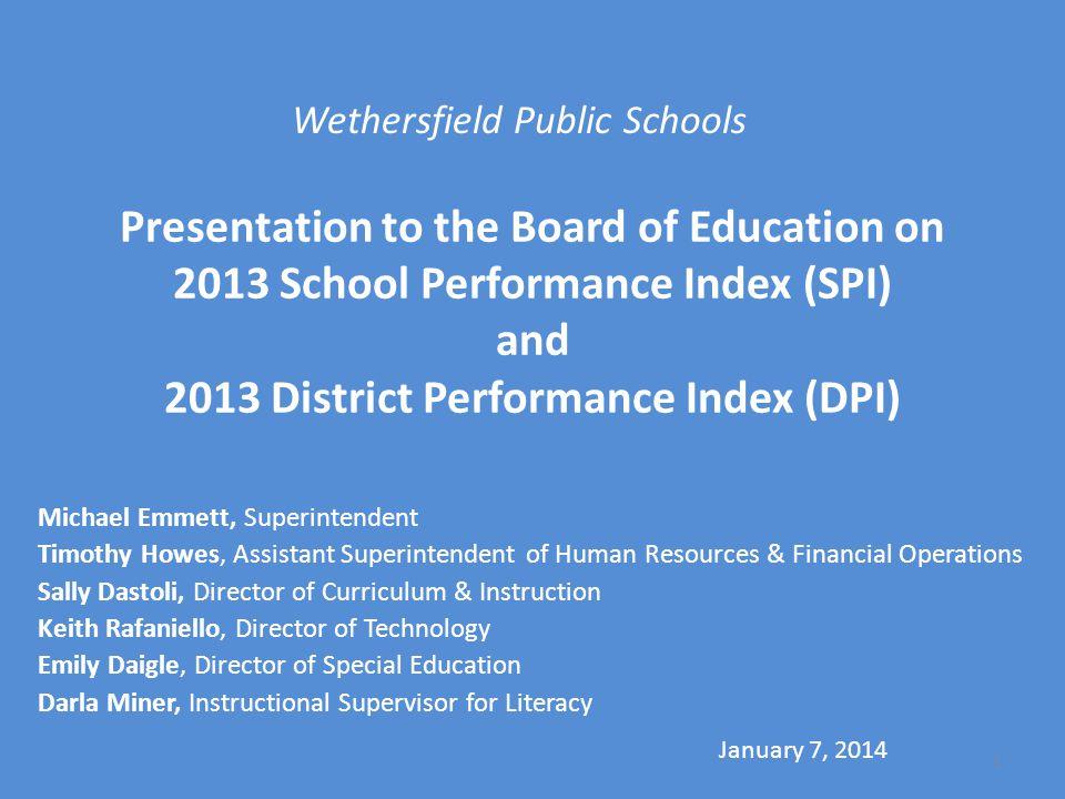 Wethersfield Public Schools