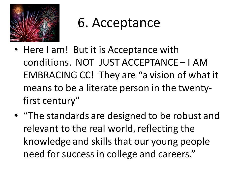 6. Acceptance