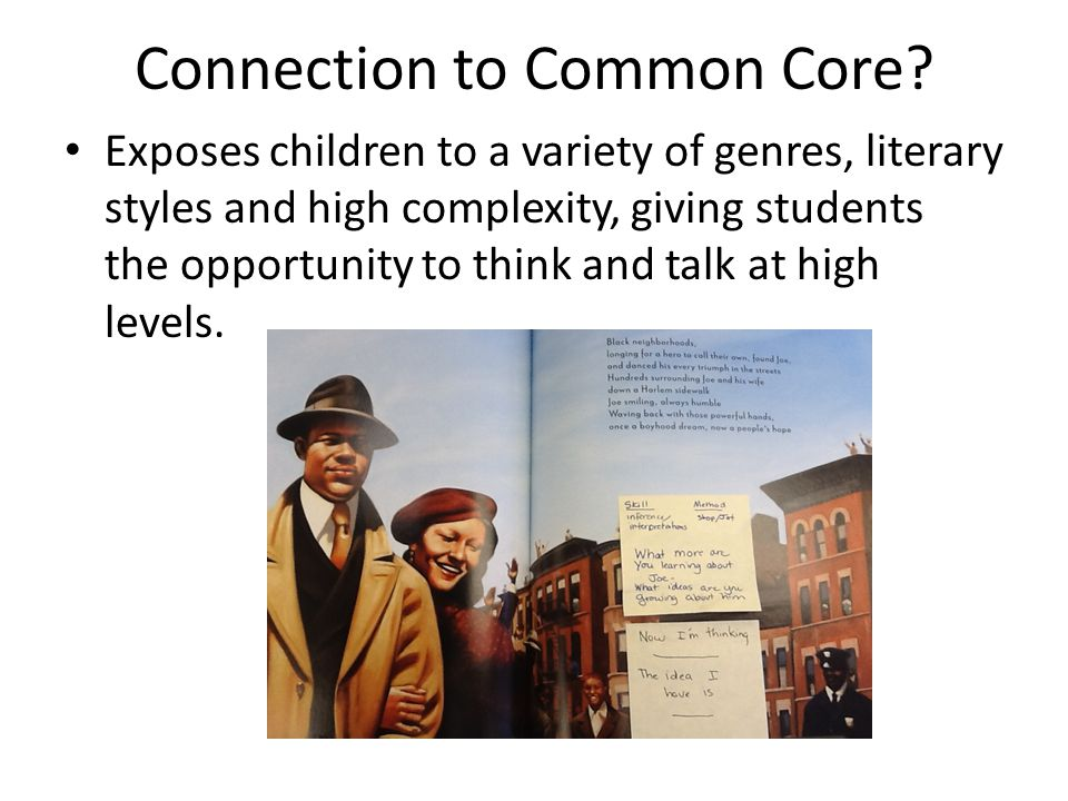 Connection to Common Core