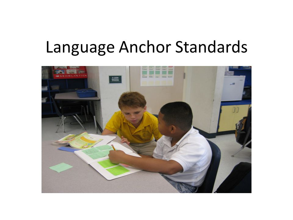 Language Anchor Standards