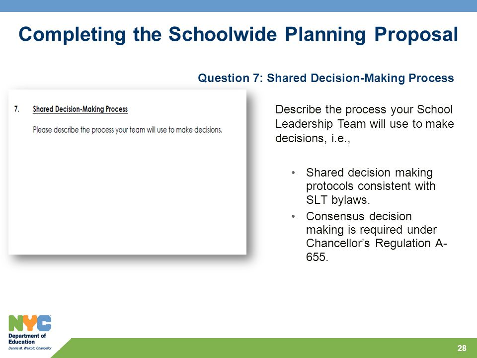 Question 7: Shared Decision-Making Process