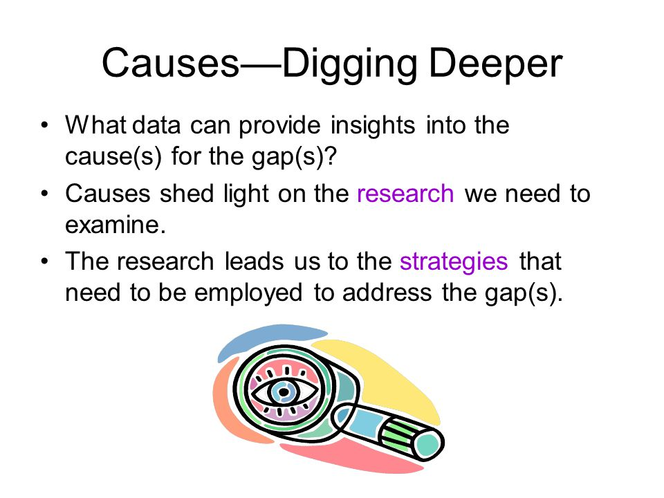 Causes—Digging Deeper