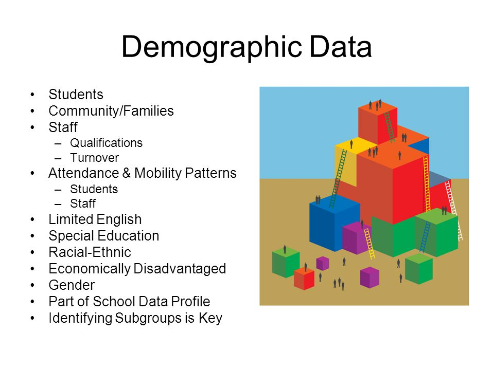 Demographic Data Students Community/Families Staff