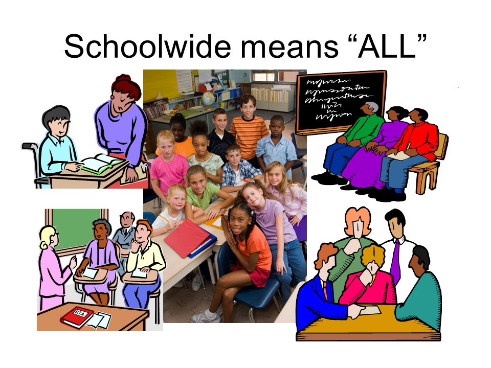 Schoolwide means ALL
